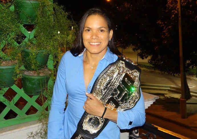 Amanda Nunes (Foto: Gustavo Pereira)