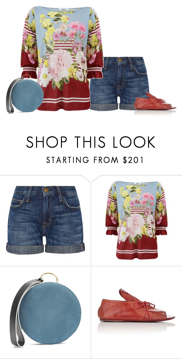 """""""Summer 2017"""" by stacy-hardy ❤ liked on Polyvore featuring Current/Elliott, Blugirl, Diane Von Furstenberg and Marsèll"""