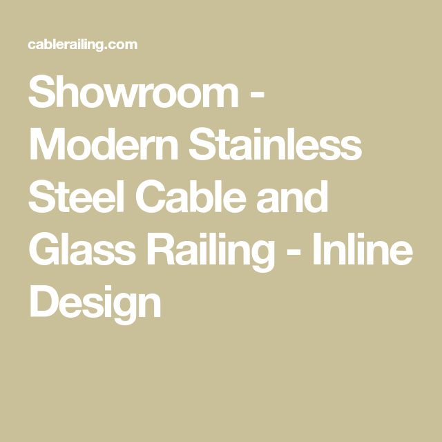 Best Showroom Modern Stainless Steel Cable And Glass Railing 640 x 480