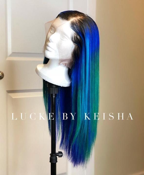 Pin On Green Wigs Virgin Hair 2