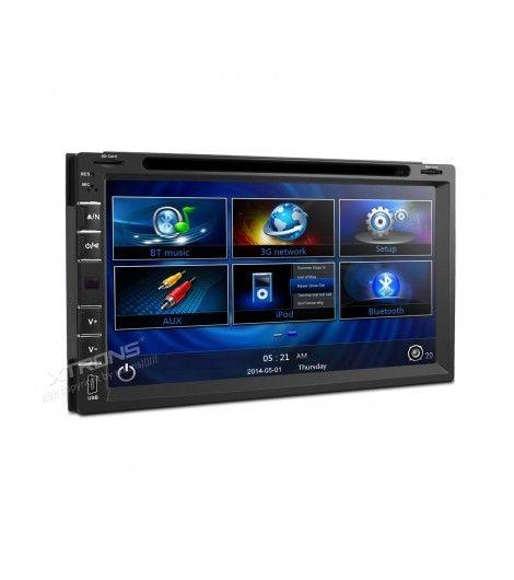 """#Felizlunes amig@s!! Hoy destacamos nuestra Radio DVD Car PC Xtrons con LCD 6,95"""" HD,3G,GPS! Lector de DVD,MP3,DIVX,MPEG,AVI,JPG,JPEG...Con Pantalla de 6,95"""" HD. Consíguelo a un precio increíble y en tan sólo 24 horas!"""
