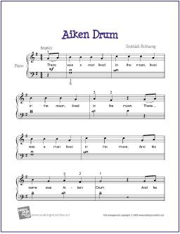 Here i am lord easy piano sheet music