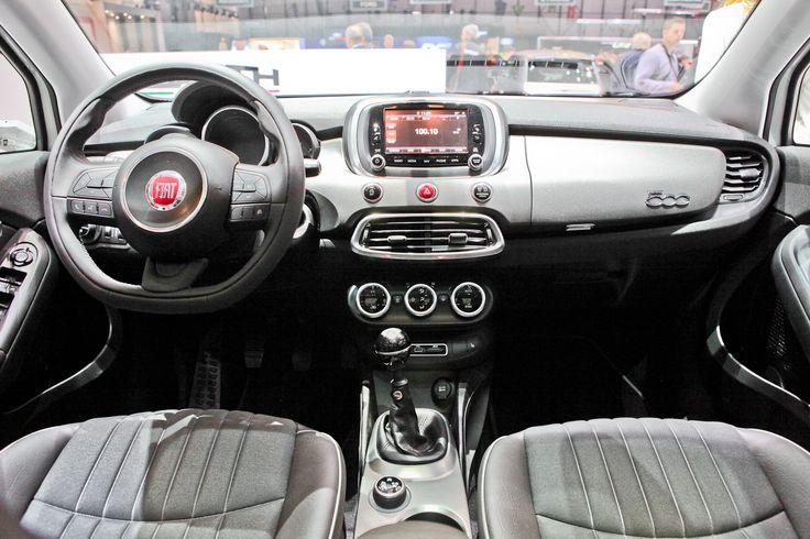 Fiat #500X #inside