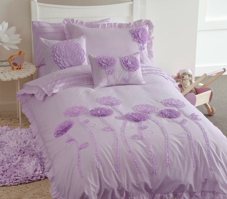 Floret Lilac Kids Bedding By Whimsy. Whimsy Is A Leading Kids Bedding Brand  In Australia. Floret Lilac Quilt Cover Set Is The Latest Addition Of Whimsy  To ...