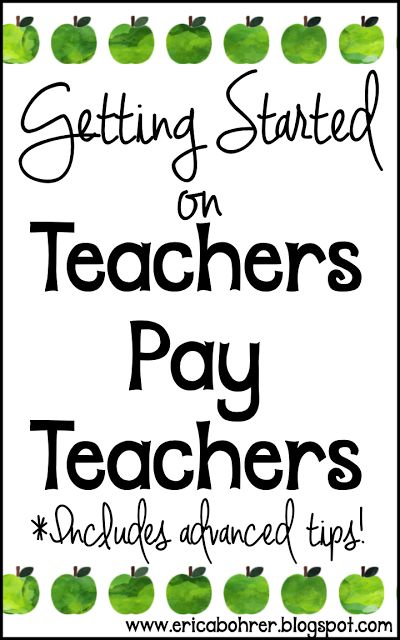 How to Get Started on Teachers Pay Teachers & Some Advanced TpT Tips! | Erica's Ed-Ventures