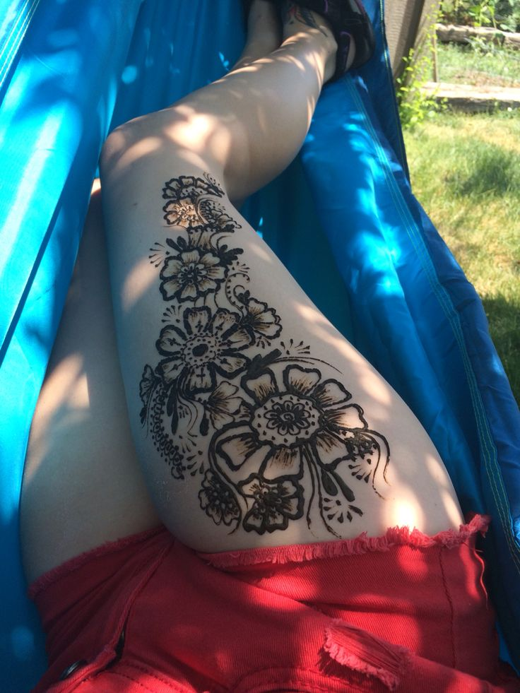 best 25 henna thigh tattoo ideas on pinterest mandala