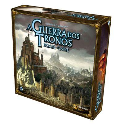 Jogo de Tabuleiro A Guerra dos Tronos Board Game - Caixa