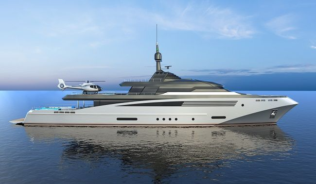 Italian shipyard Eurocraft has recently introduced two new full-displacement superyacht projects, both designed in partnership with Federico Fiorentino Yac