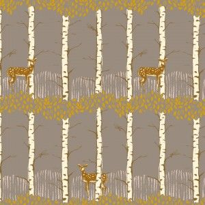 Timber and Leaf - Fawn in Birch Grey