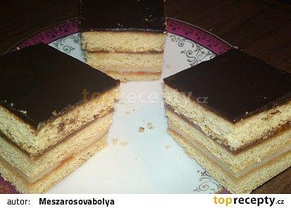 Medový krémeš recept - TopRecepty.cz