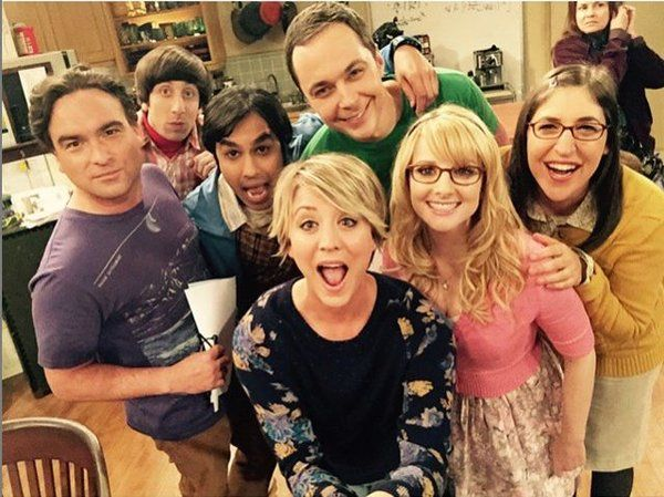 Big Bang Theory Fotos Rodaje