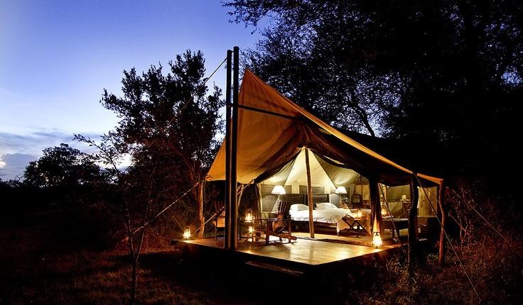 Rhino Plains Camp, South Africa  http://www.africatravelresource.com