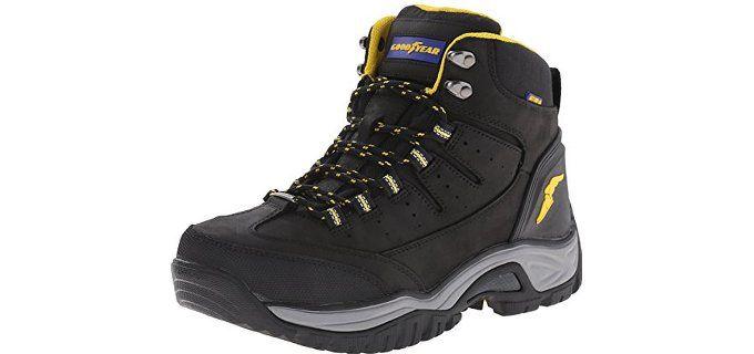Goodyear Bristol SW – Waterproof Steel Toe Work Boots for Men with Flat Feet