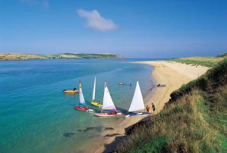 The Camel Estuary - between Rock & Padstow ...