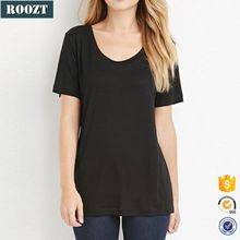 Summer Plain T shirts Wholesale China Women Short Sleeve Black T shirt Best Seller follow this link http://shopingayo.space