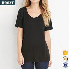 Summer Plain T shirts Wholesale China Women Short Sleeve Black T shirt Best Seller follow this link http://shopingayo.space