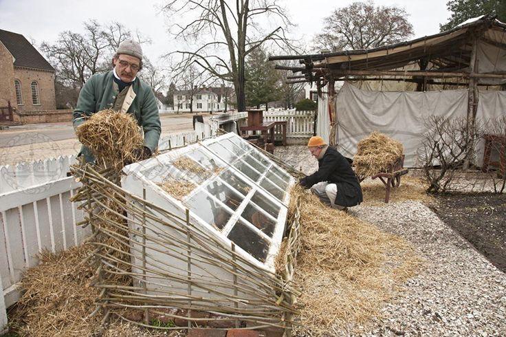 Building a garden hotbed