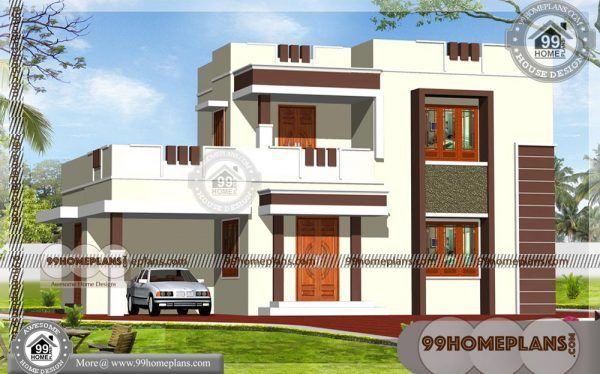 Two Storey Contemporary House Designs Low Budget House Collection Kerala House Design Online Home Design Contemporary House Design