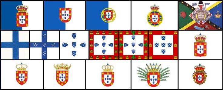 Crónicas Portuguesas: Bandeiras Portuguesas