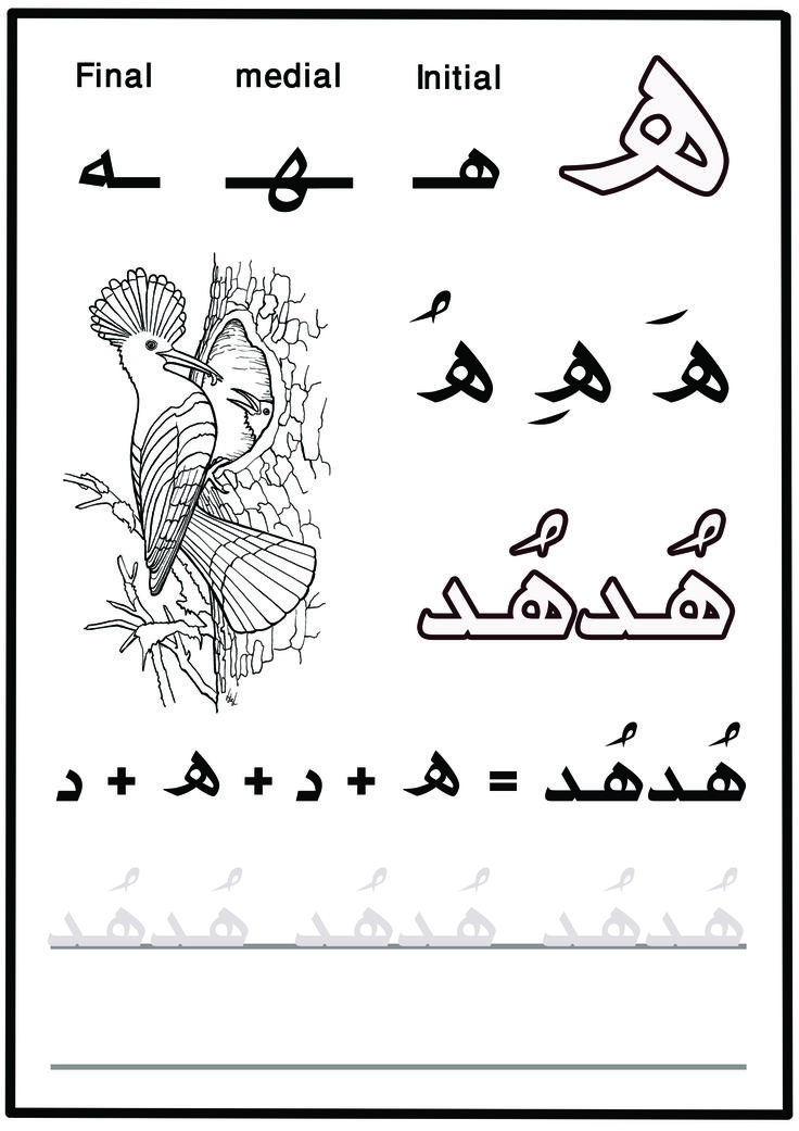 23+ Arabic Alphabet Letters to Download - PSD, PDF | Free ...