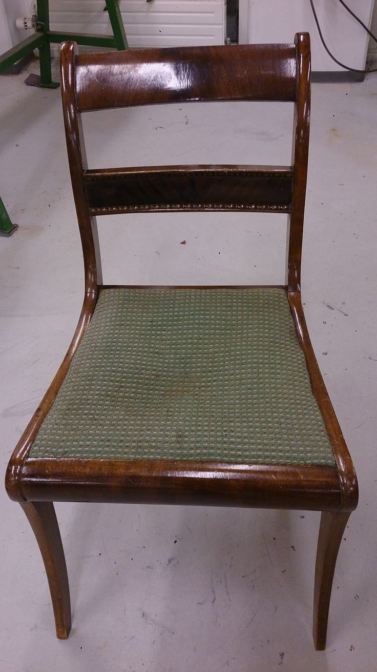Elises stol - før