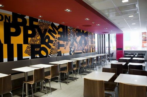 very smart of mcdonald's to redesign their spaces across north america