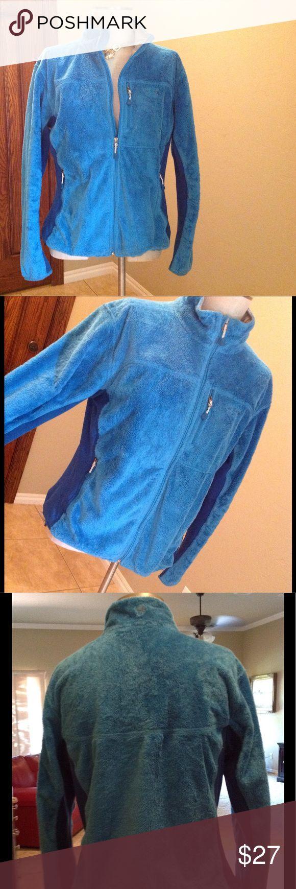 Mountain Hardwear jacket Gorgeous deep blue color!!!  supersoft and warm. Mountain Hardwear Jackets & Coats