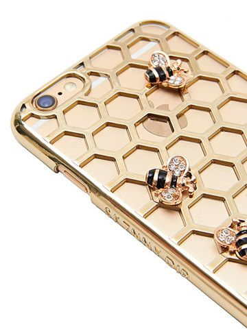 iPhone 6 Bee Case. Cute. Fit for a Queen Bee.                                                                                                                                                                                 More