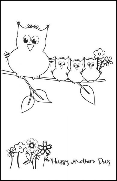 126 best PARENT-OWLS images on Pinterest Owls, Owl and Tawny owl - mothers day card template