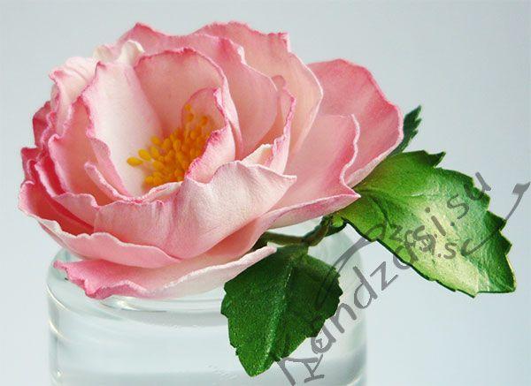 Миниатюрная роза Мини Бока из фоамирана