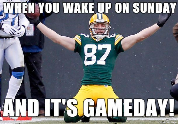 Exactly....except it pains me that we won't see Jordy this year :(