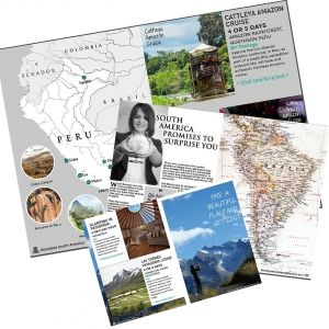 Calling all independent and luxury travellers. You can look through the range of custom tours and travel ideas at your pace with the new Boutique South America Travel Brochure. Get it free today