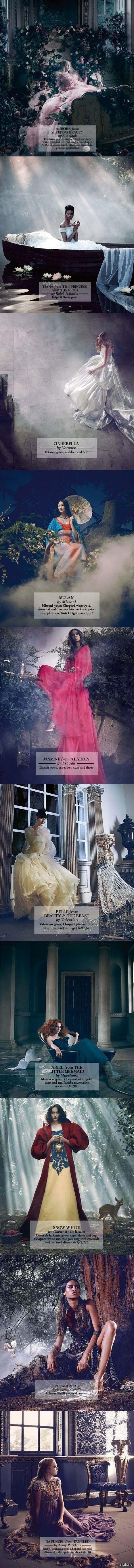 Диснеевские принцессы от ведущих дизайнеров
