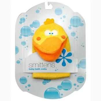 Perfect for the kids to play with in the bath. Insert ones hand into the Mitt and make use in water to wash the body simply by using soap and lathering it into the mitt.
