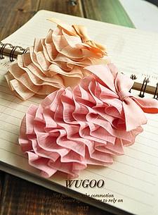 Corea del tocado de la torta de exportación órdenes arco los coreanos CLIP top horquilla Barrette pequeños accesorios para el cabello joyas al por mayor de tarjetas