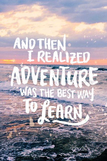 Travel Quotes | Life's best lessons come from outside of your comfort zone.