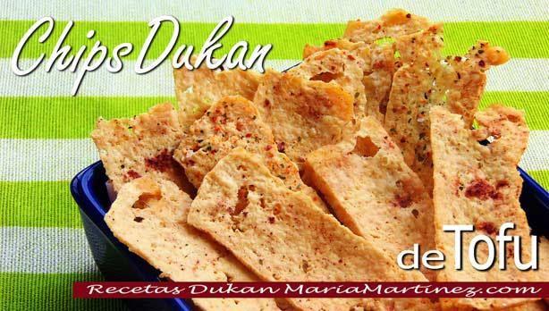 Recetas con Tofu: Chips Crujientes salados y dulces (dieta Dukan, Ataque)