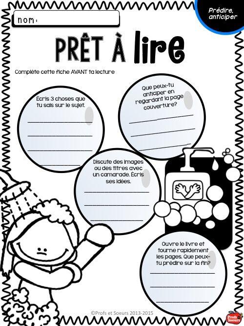 Activités reproductibles pour pratiquer 13 stratégies de lecture