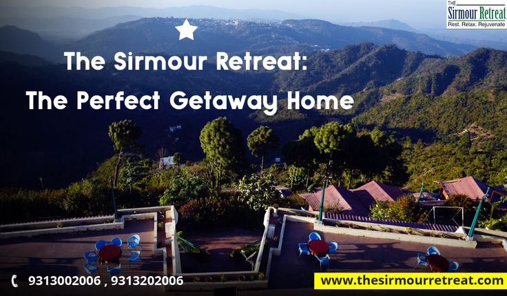 #Mountains 🏔️are the beginning and the end of all natural #Scenery. The Sirmour Retreat is the perfect #Destination to visit.🙂 Contact us☎️ 91-9313002006 / +91-9313202006 Visit👉 https://goo.gl/KQF8iC