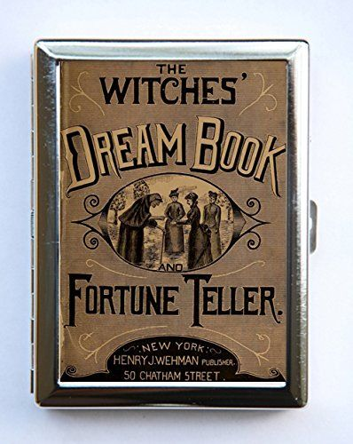 Halloween Dream Book Cigarette Cigarette Case id case Wallet Business Card Holder