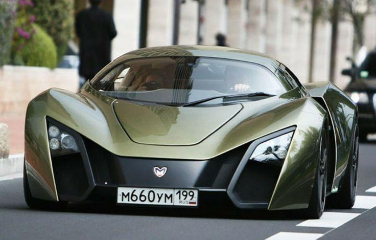 Bon The Russian Super Car, Marussia.