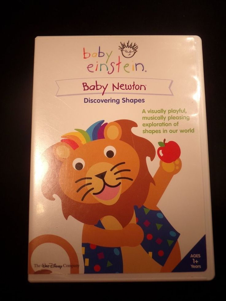 Baby einstein dvd newton discovering shapes