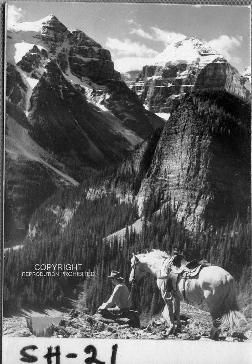 Bruno Engler Black And White Photographs  Horse And Rider (Photograph) (BRUORGSH021)