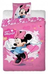 Detské obliečky Minnie pinkie 2013 - spravte radosť svojim deťom na začiatku školského roka. Nové Disney vzory sú krásne farebné a určite spravia radosť za dobrú známku v škole.