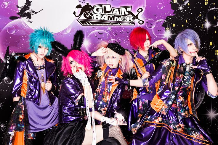 "GLAM GRAMM@R will release their new maxi single ""yanderella in Halloween Party"" (病ンデレラ in Halloween Party) in October! You can listen to a sample of each song in the video below! Maxi s…"