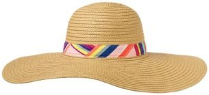 Crazy 8 Floppy Straw Hat