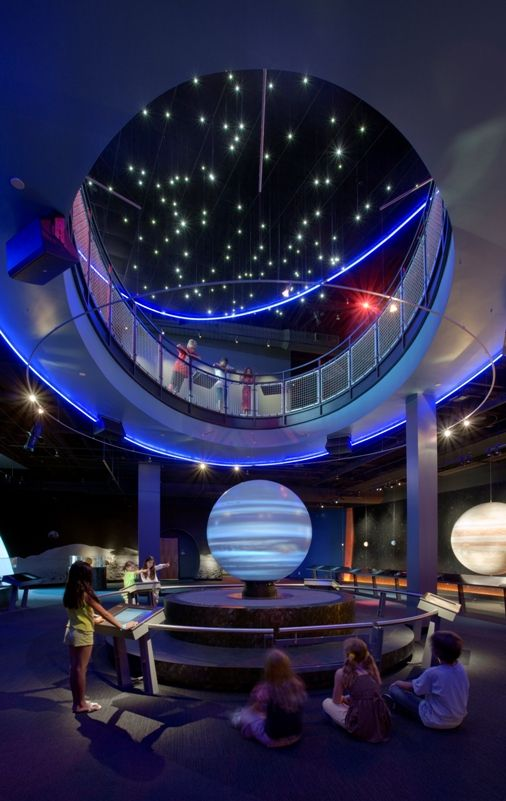 Museum visitors go on a grand tour of the solar system | Interactive Exhibits | Ideum