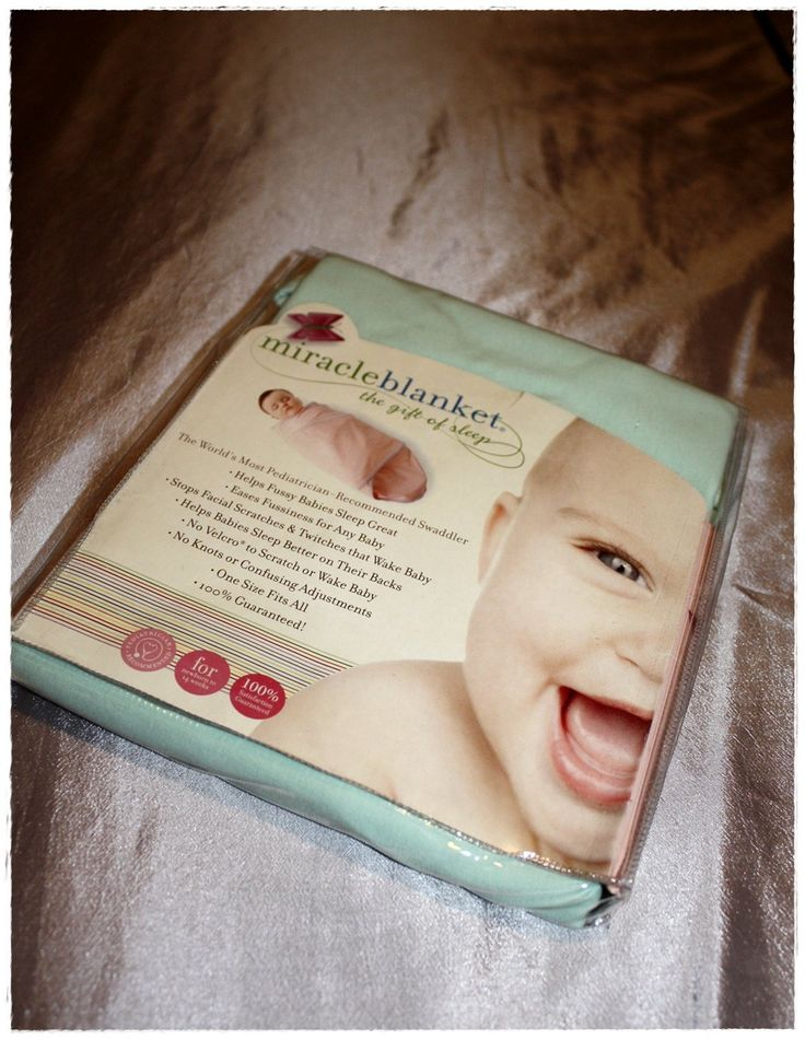 Amazon.com : Miracle Blanket Baby Swaddle Blanket, Blue with Chocolate Polka Dots : Nursery Swaddling Blankets : Baby