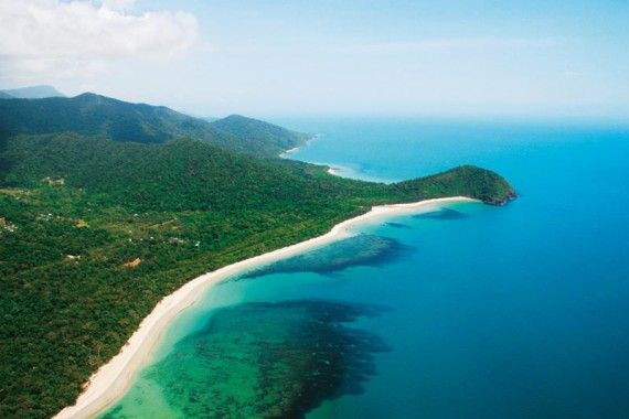 Cape Tribulation in Queensland, Australia