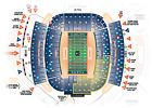 2 Alabama vs Auburn Football Tickets Bama Section